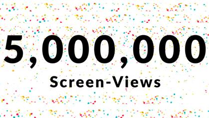 Thumbnail 5,000,000 Milestone