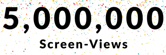 Milestone 5,000,000 Users