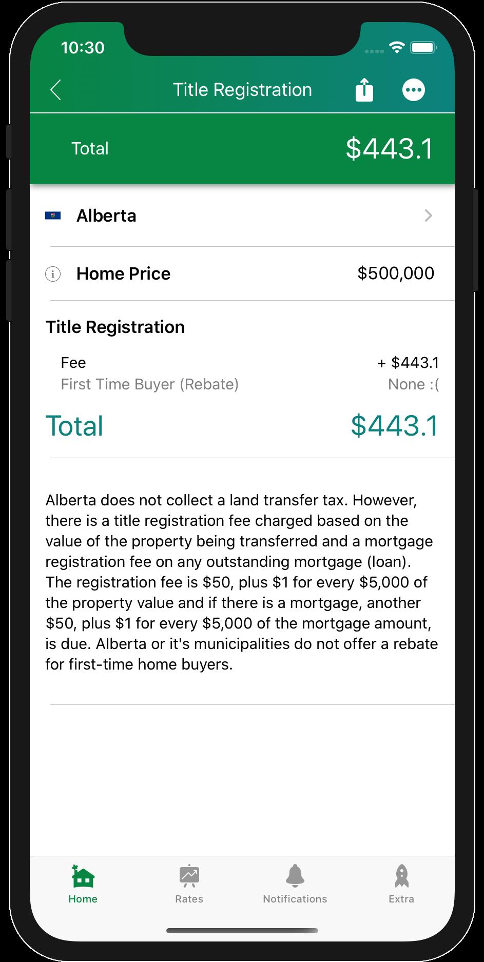 Land Transfer Tax Alberta