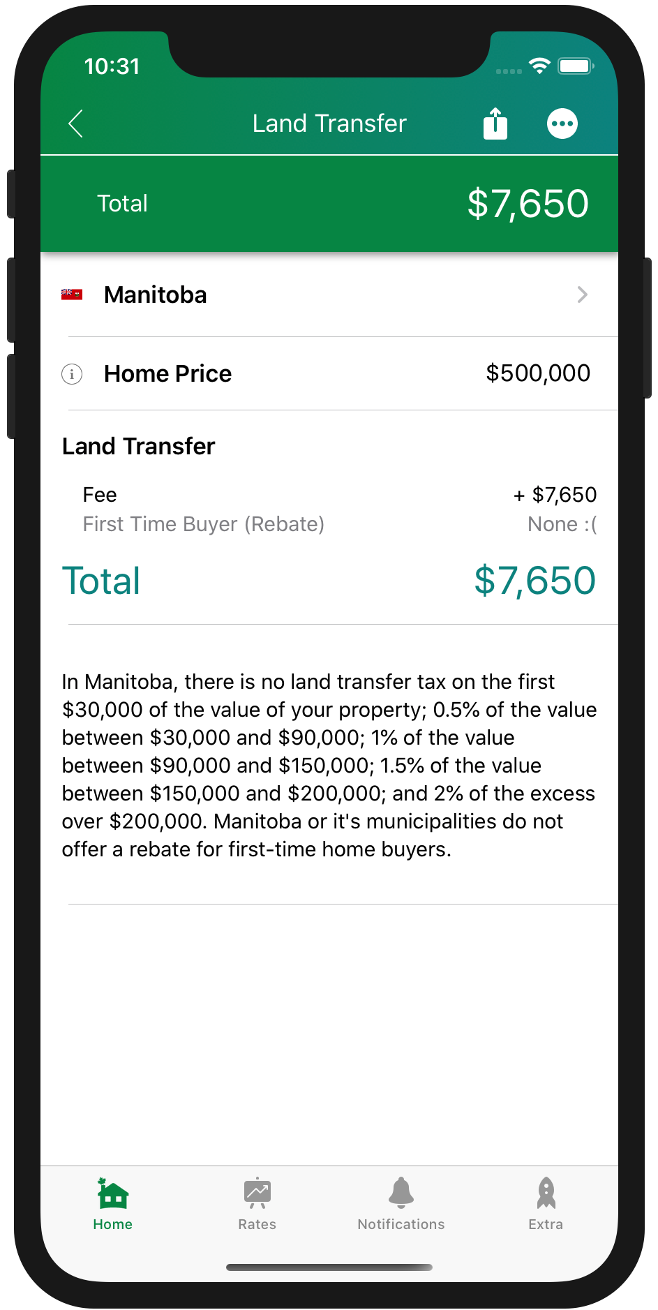 Land Transfer Tax Manitoba