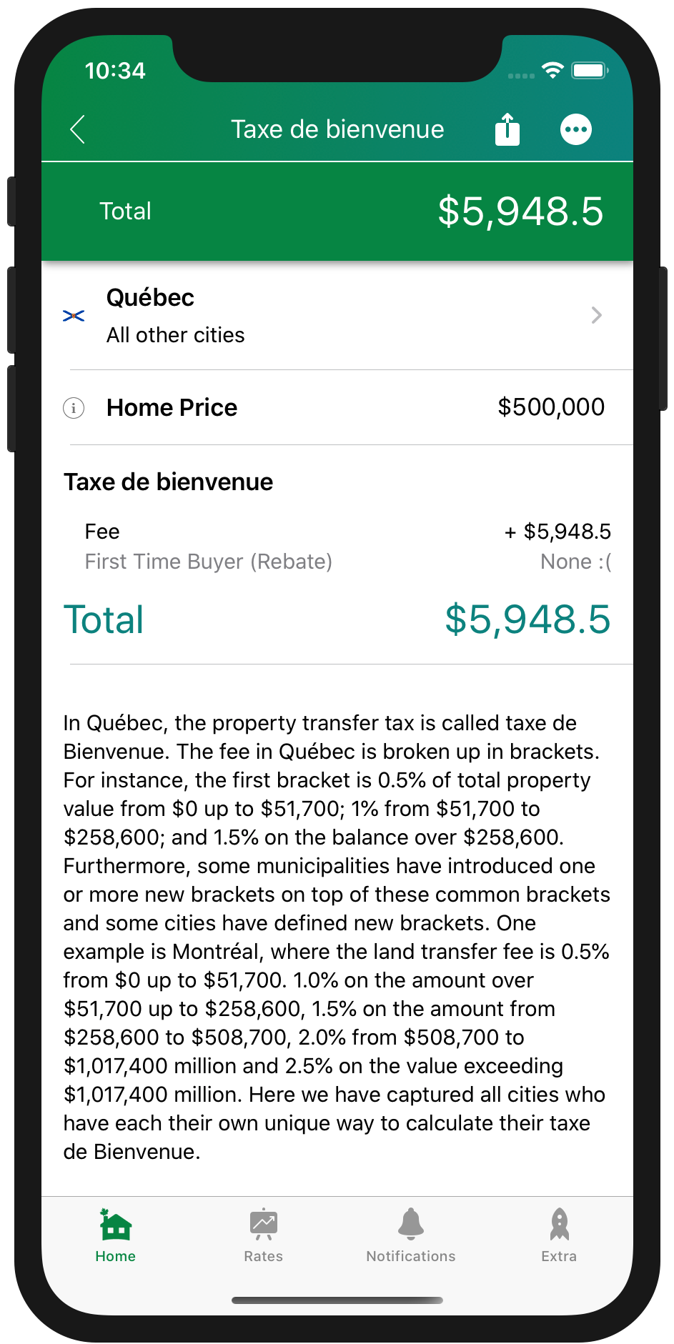 Land Transfer Tax Quebec